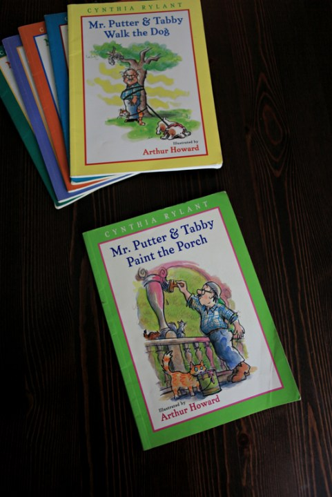 Mr Putter books, Mr Putter and Tabby Paint the Porch, children's books, great early readers