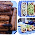 Fancy Hot Dog Party + Guacamole Recipe