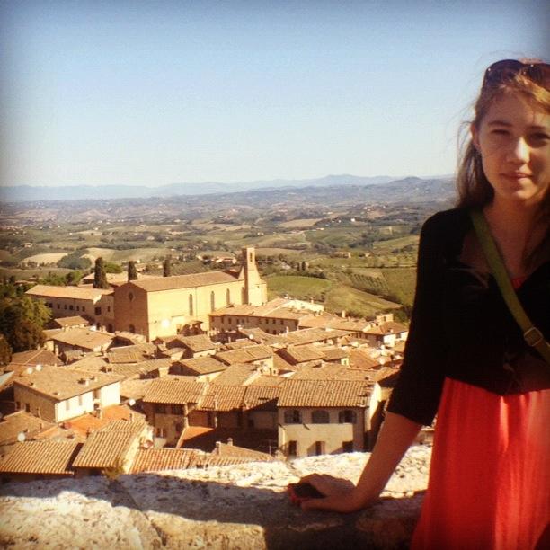 Under the Tuscan Sun, San Gimignano