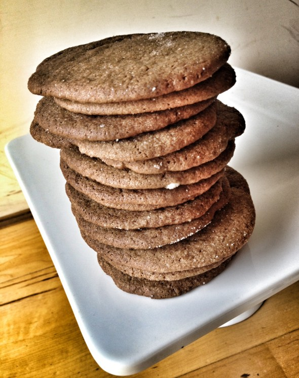 Baking by Dorie Greenspan, favorite cookbooks, cookie recipes, molasses spice cookies, gingersnaps