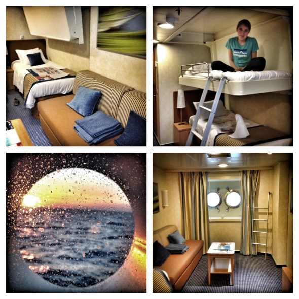 Carnival Breeze, Cruising, Cruise Ship, Notes on a Cruise, European Cruise, Cruising the Mediterranean, Carnival Cruise, Carnival Breeze Porthole Stateroom, Riviera Deck