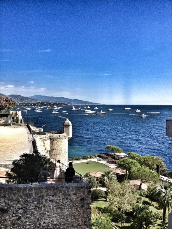 Musee Oceanographique, Monaco, Monaco-Ville, Mediterranean Cruise, European travel, What to do in Monaco, view from Musee Oceanographique