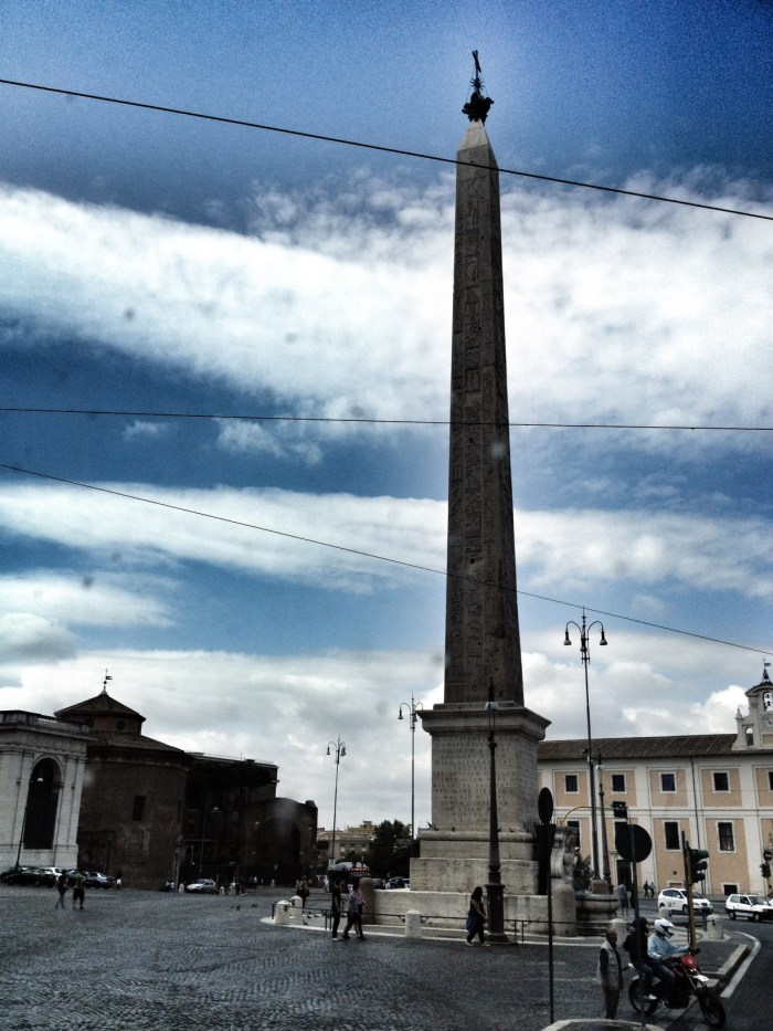 Egyptian Obelisk in Rome, Rome, Italy, Travel, Europe, Mediterranean Cruise Ports
