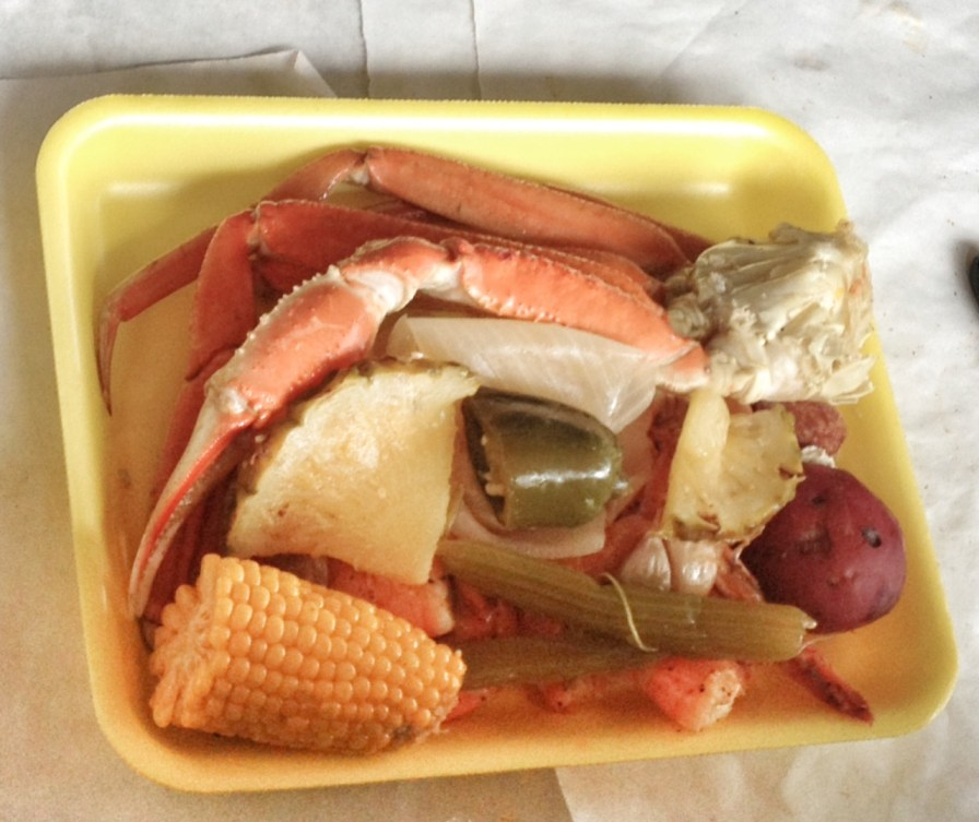 K Hall and Sons, Little Rock local spots, Saturday Shrimp Boil