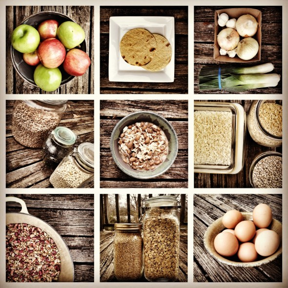 seven foods, seven, foods, beans and grains and things, beans, oats, grains, healthy food collage