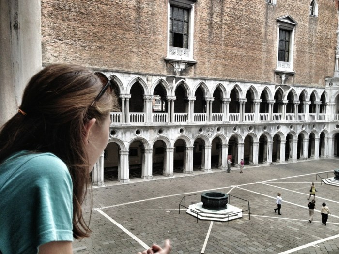 courtyard of doge's palace