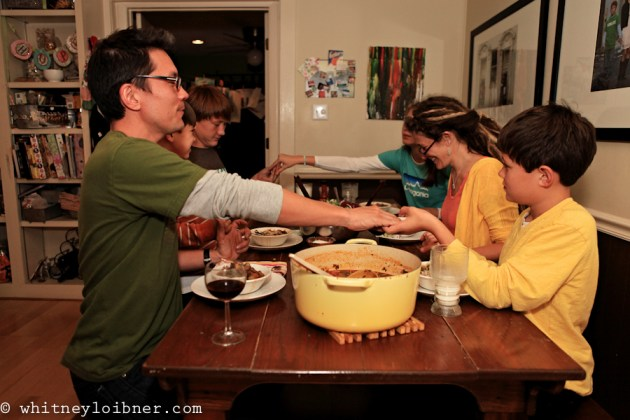gumbo, making gumbo together as a family, cooking together as a family, all together in the kitchen, around the table, family photos, creative family photo shoots,