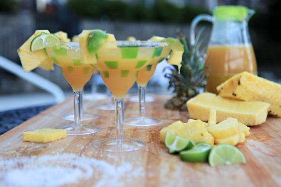 Orange Pineapple Margarita Recipe, Fun Drinks By The Pool, Girls Night, Summer Party