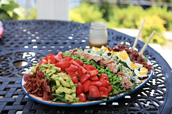 Cobb Salad, Summer Dishes, Colorful Salads, Edamame, Bacon