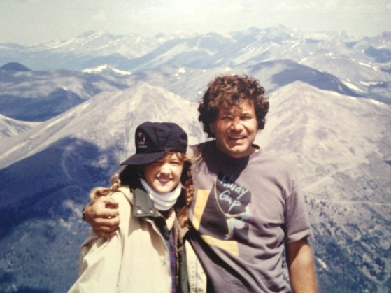 A Story about My Daddy, vintage backpacking