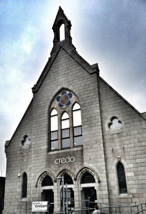 Vineyard in Aberdeen, Scotland, Week 2, Credo