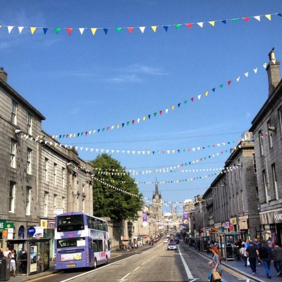 Happy Downtown Aberdeen, Scotland, Week 2