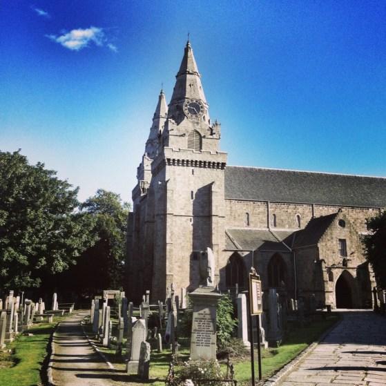 Aberdeen, Scotland, Week 3, St Machars Cathedral