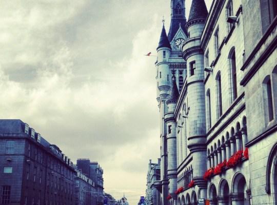 In The Pipeline, Union Street, Aberdeen, Scotland, Week 4, Chinos To Scotland