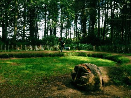Castle Fraser, Scotland, Aberdeenshire, Children's Garden