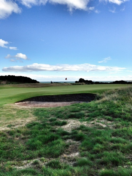 The North Sea Walk, Aberdeen Golf Club, Scotland