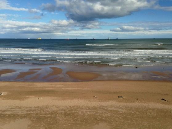 The North Sea Walk, Storms, Scotland