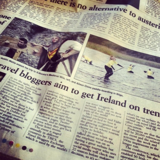 Blogging in Ireland