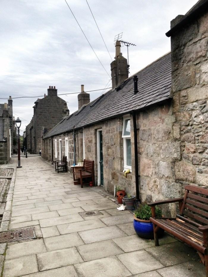 Fishing Village of Footdee, Aberdeen