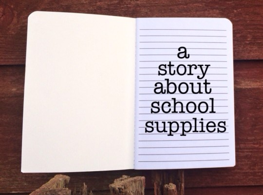 A Story about School Supplies, Unexpected PROVISION