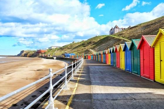 Whitby Beach Walk England, Walking with Children, #48walks