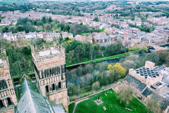 Ten Days in the UK, Snapshots of Durham, England, Durham Cathedral, Romanesque Architecture