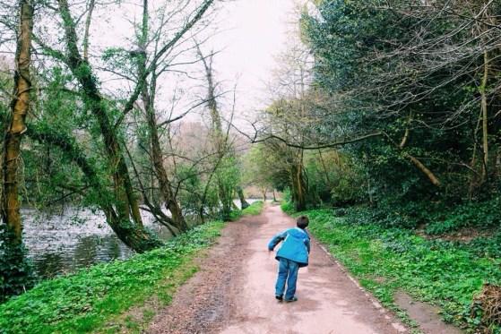 Snapshots of Durham, England, River Wear