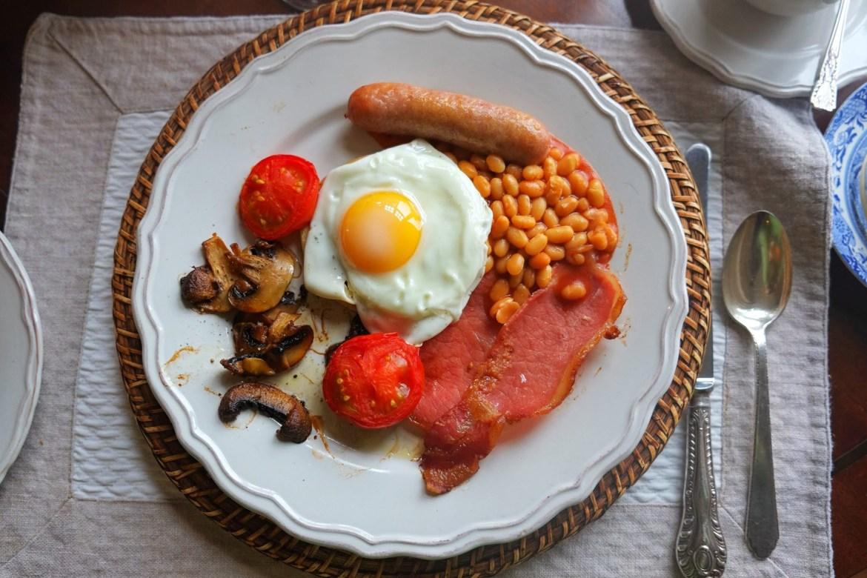 British Breakfast, Full Scottish, St Cuthbert's Way