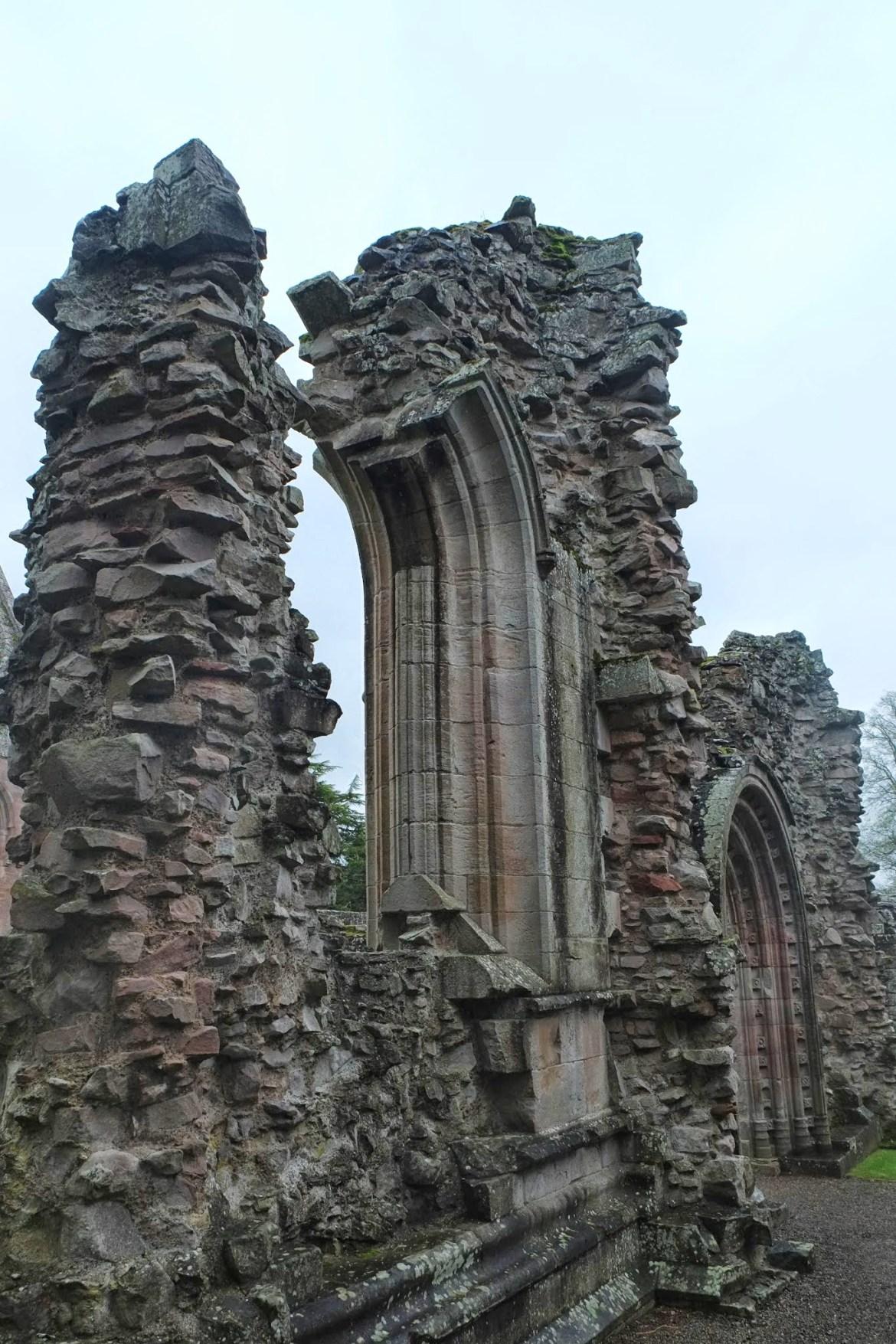 Scottish Borders, Dryburgh Abbey, St Cuthberts Way
