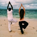 A Story about Yoga on the Beach