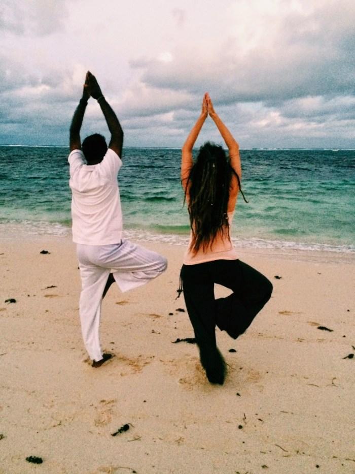A Story about Yoga on the Beach, Mauritius, First Choice Holidays, Long Beach