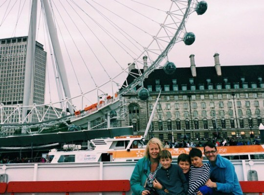 london, thames river cruise, cousins take europe