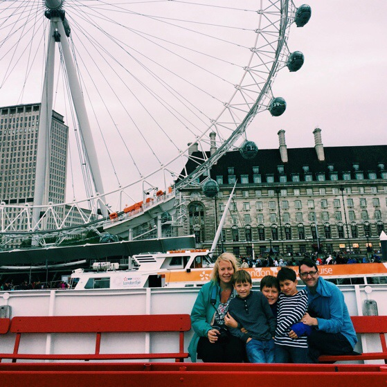 london, thames river cruise, cousins take europe