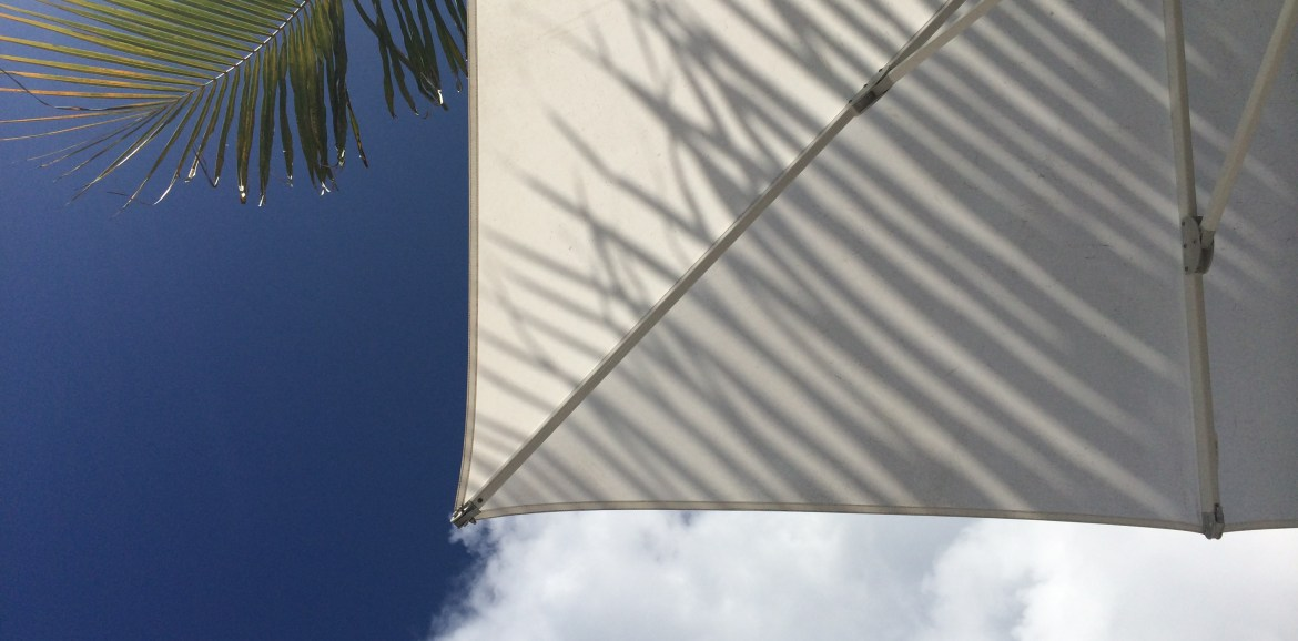 Snapshots of Mauritius, View from a Beach Lounger