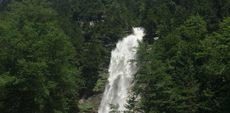 Waterfall, A Walk to Stafeli, Engelberg Switzerland