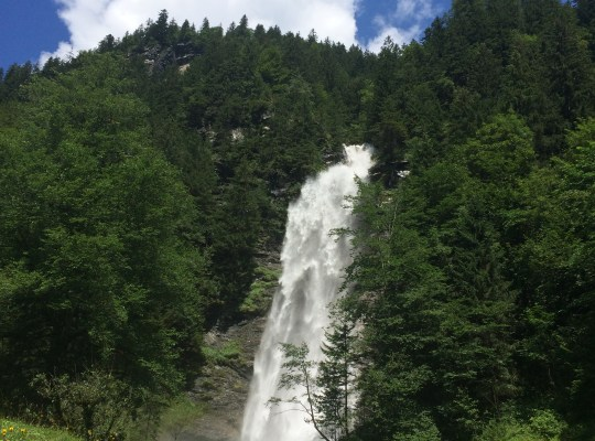 Waterfall, A Walk to Stafeli, Engelberg Switzerland