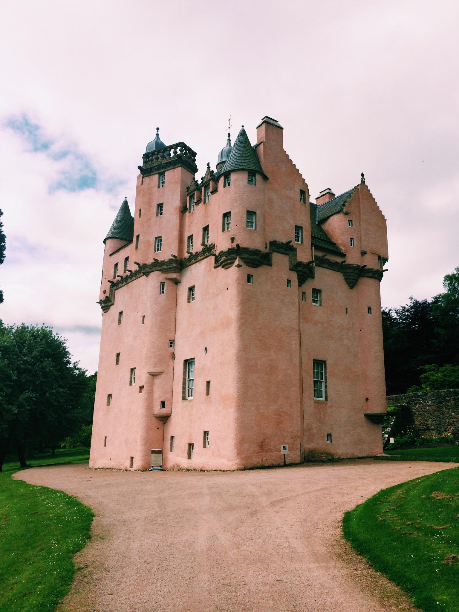 Craigievar Castle, Scotland, Aberdeenshire
