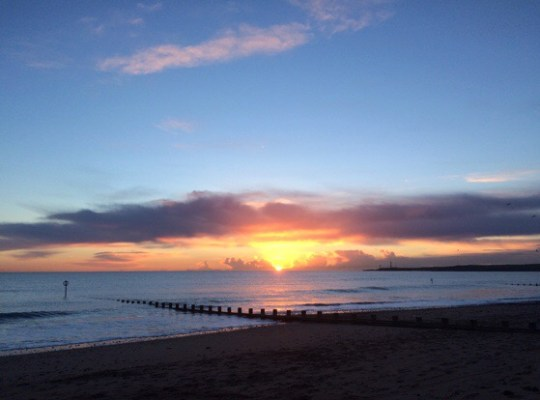 Sunrise in Aberdeen, Chasing Daylight, Scotland