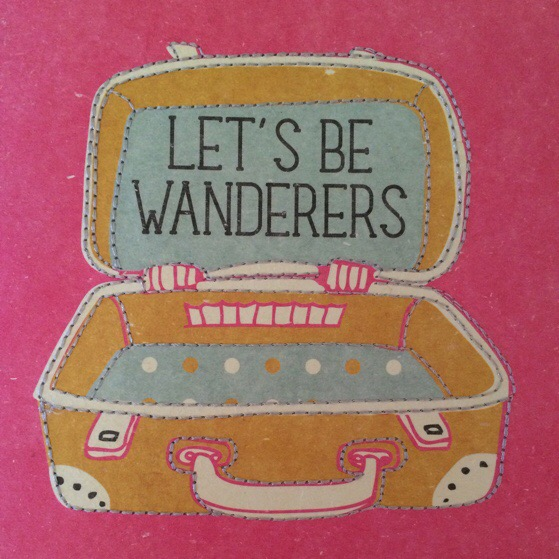 In The Pipeline, Let's Be Wanderers, Journal