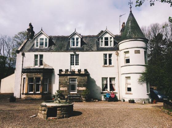 Cragganmore House, Speyside Way, Speyside Sistas, Macs Adventure