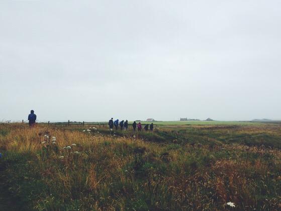 Chasing Daylight, Cruden Bay, Scotland, Summer in Scotland, Walking in the Rain
