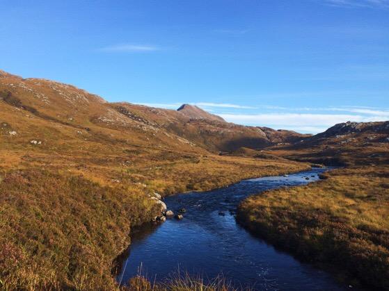 Northwest Highlands of Scotland, Climbing Suilvan, Clashnessie, Lochinver