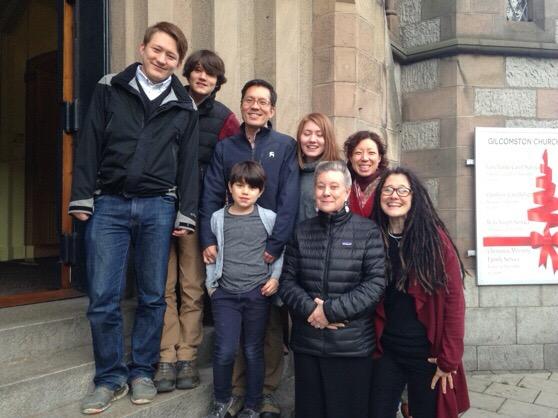 Christmas, Scotland, Aberdeen