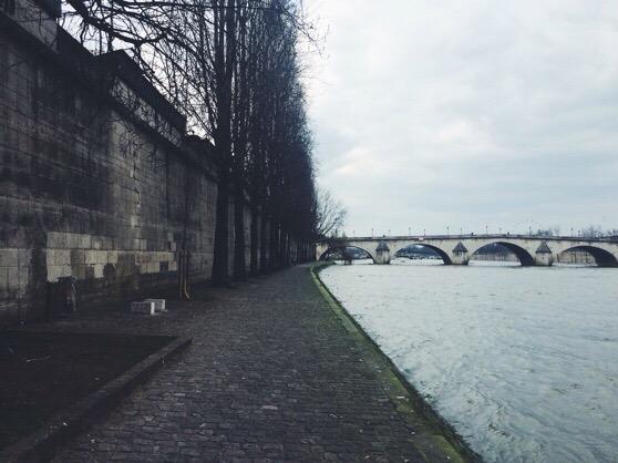 Paris in Winter, Snapshots of Paris