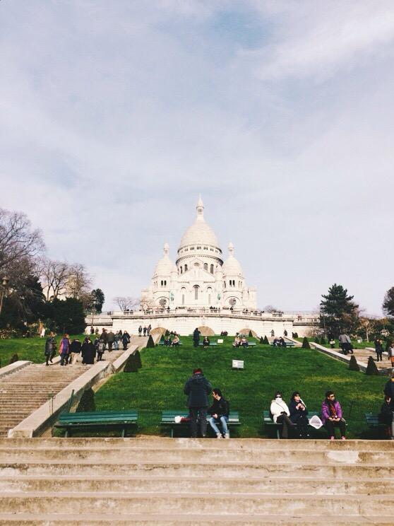 Snapshots of Paris, Paris in Winter, Sacre Coeur