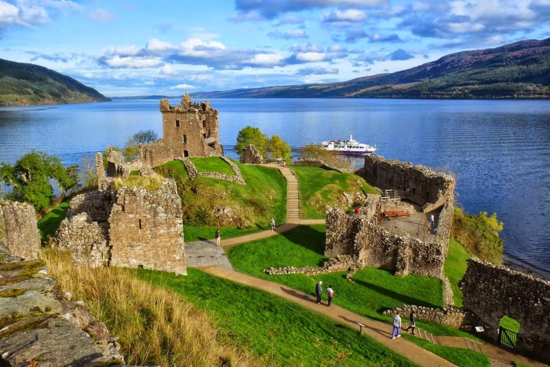 Urquhart Castle, Scotland, Aberdeen