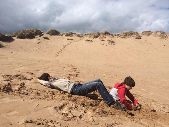 Sand Dunes Scotland, Balmedie Beach, Aberdeen Day Trips