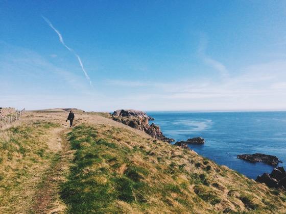 Coastal Walking in Scotland, Aberdeen