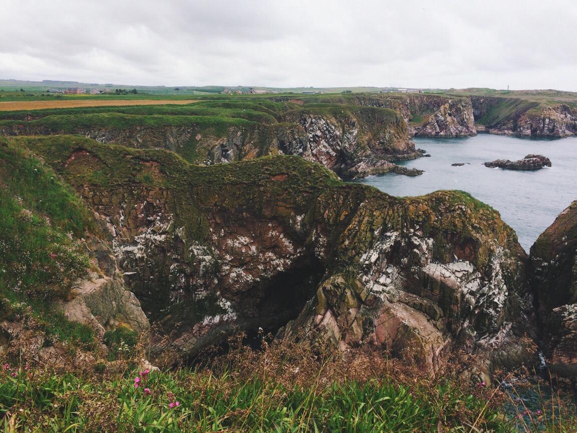 Cruden Bay, June, Scotland, Scottish Coastal Trails, Aberdeen