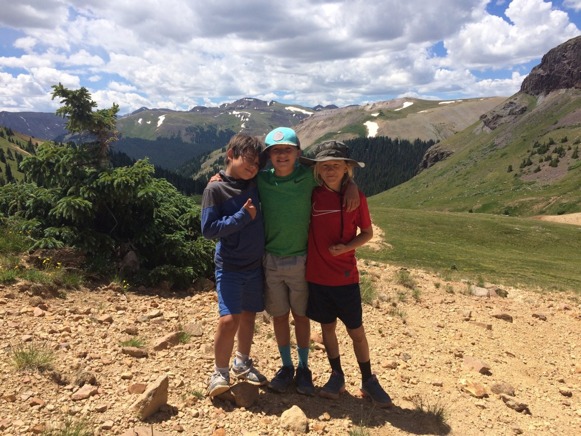 Summer Grateful, Simon, Phin and Campbell in CO
